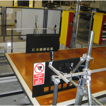 Automatic Assembly Line TPM Test System