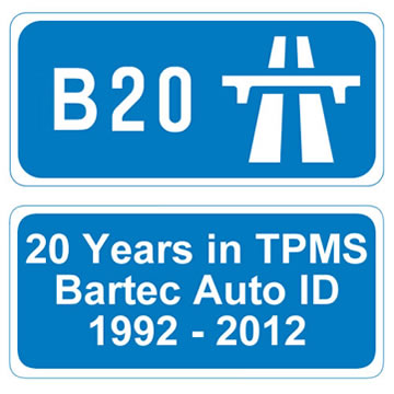 June 2012 - Bartec is 20 years old - Bartec Auto ID Leading the way in TPMS for 20 years