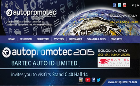 "Autopromotec Exhibition in Italy ""Bologna"" and we'll be there!"