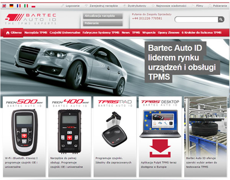 New Polish Language Website Launched by Bartec Auto ID