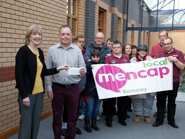 Bartec Auto ID supports Local Barnsley Mencap Charity