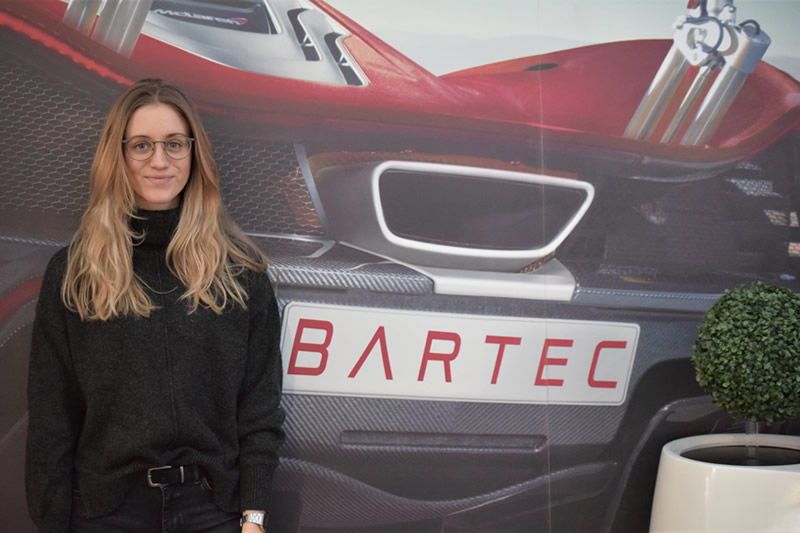 Bartec Auto ID welcomes another intern from Germany in the Sales and Marketing department