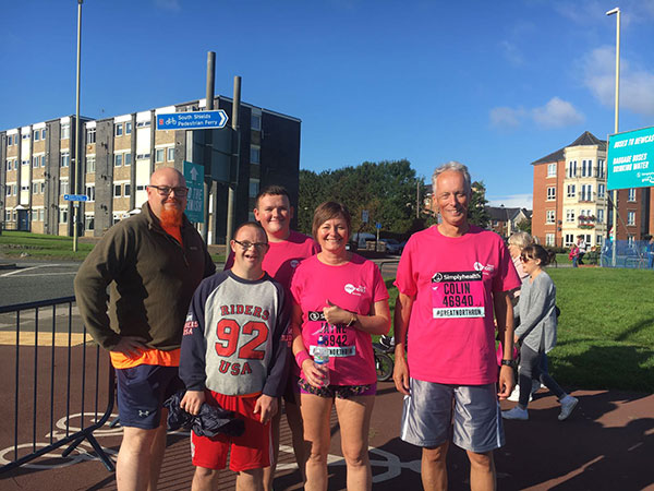 Bartec Staff Participate In The Great North Run In Aid Of Mencap