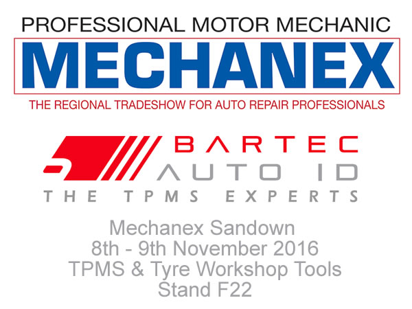 November 2016 - British Manufacturer Bartec Auto ID Limited Hoping To Shine At MECHANEX: Sandown Park