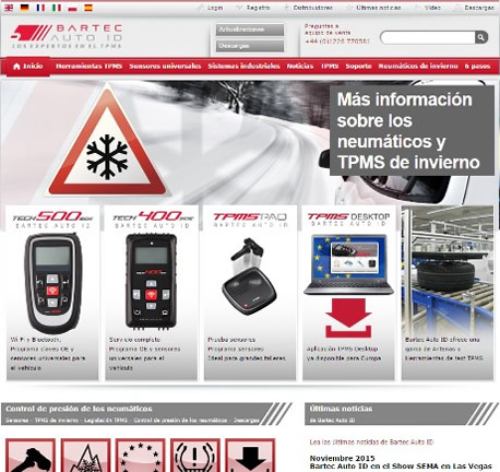 New Spanish Language Website Launched By Bartec Auto ID