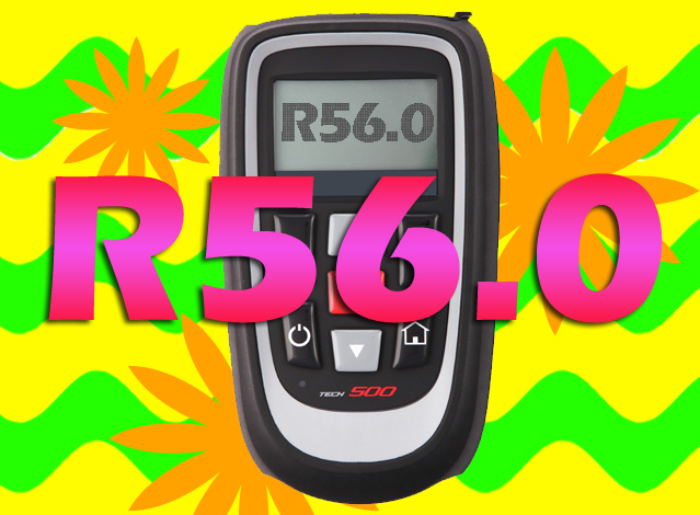 Latest update for the summer tyre season with R56.0!