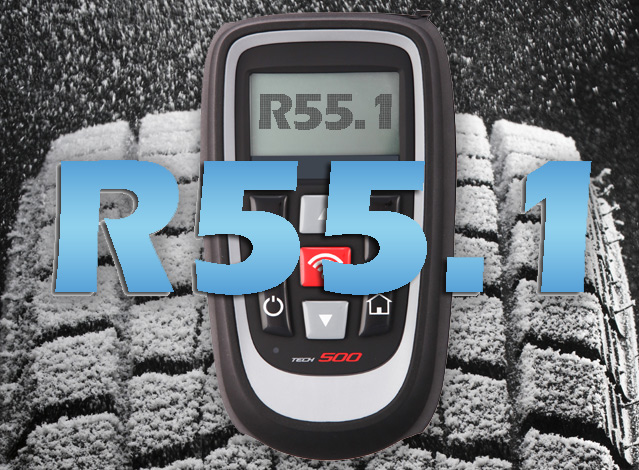 Latest update for the winter tyre season with R55.1!