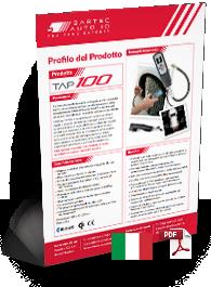 TAP100 Produktdatenblatt Italian