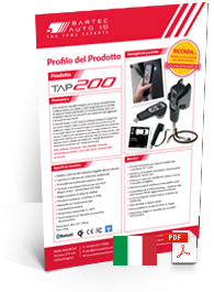 TAP200 Scheda Dati Italian