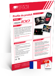 TECH100 Produktdatenblatt French