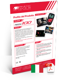 TECH100 Data Sheet Italian
