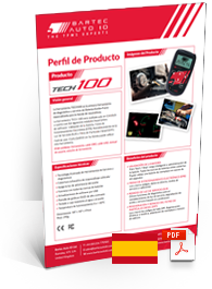 TECH100 Produktdatenblatt Spanish