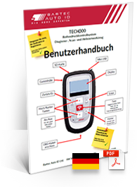 TECH300 User Manual German