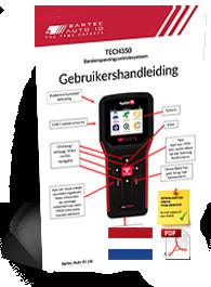 TECH350 ALCAR User Manual Dutch