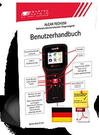 TECH350 ALCAR User Manual German
