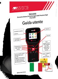 TECH350 ALCAR User Manual Italian