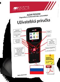 TECH350 ALCAR User Manual Slovak