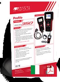 TECH350 Data Sheet Italian
