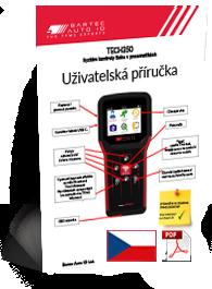 TECH350 User Manual Czech