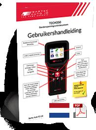 TECH350 User Manual Dutch