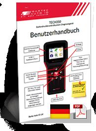TECH350 User Manual German