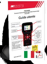 TECH350 User Manual Italian