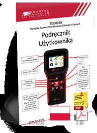TECH350 User Manual Polish