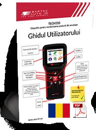 TECH350 User Manual Romanian