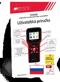 TECH350 User Manual Slovak