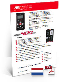 TECH400SDE Data Sheet Dutch