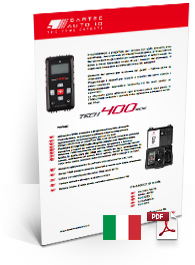 TECH400SDE Data Sheet Italian