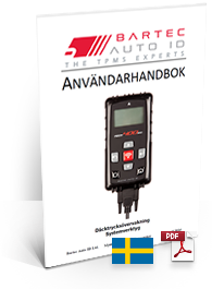 TECH400SDE User Manual Swedish