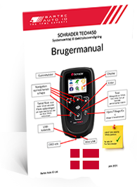 TECH450 Schrader User Manual Danish