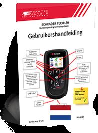 TECH450 Schrader User Manual Dutch