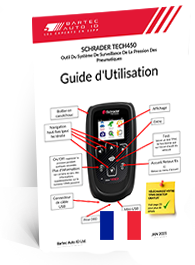 TECH450 Schrader User Manual French
