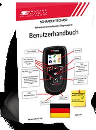 TECH450 Schrader User Manual German