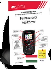 TECH450 Schrader User Manual Hungarian