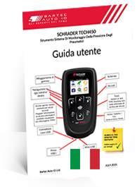 TECH450 Schrader User Manual Italian
