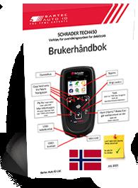TECH450 Schrader User Manual Norwegian