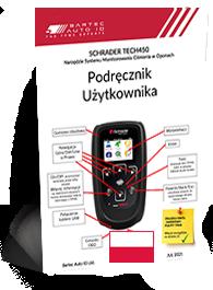 TECH450 Schrader User Manual Polish