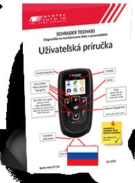 TECH450 Schrader User Manual Slovak