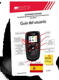 TECH450 Schrader User Manual Spanish
