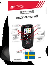 TECH450 Schrader User Manual Swedish