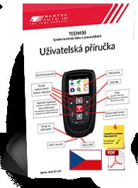 TECH450 User Manual Czech