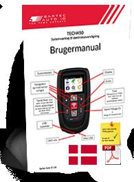 TECH450 User Manual Danish