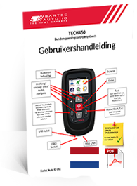 TECH450 User Manual Dutch
