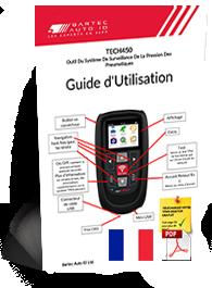 TECH450 User Manual French