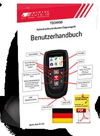 TECH450 User Manual German