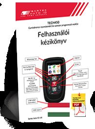 TECH450 User Manual Hungarian