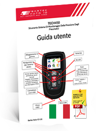 TECH450 User Manual Italian